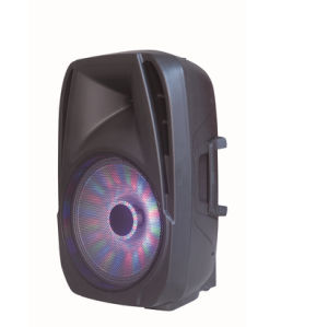 12 Inch Professional Stage DJ Speaker with Colorful Light F18 pictures & photos