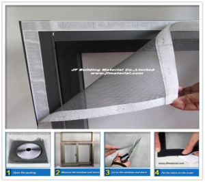 New DIY Insect/Fly/Bug/Mosquito/Door Fiberglass Window Screen pictures & photos
