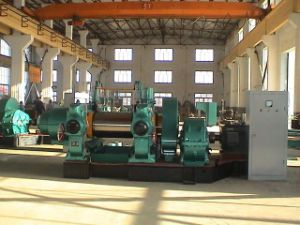 Xk-400 Two-Roll Open Mixing Mill with CE pictures & photos