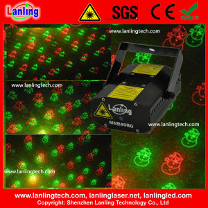 Christmas Mini Stage Laser Lighting 8 Gobos with Gift Box pictures & photos