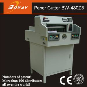 Boway 480mm Electrical Programmed Paper Cutter Machine Bw-480z3 pictures & photos