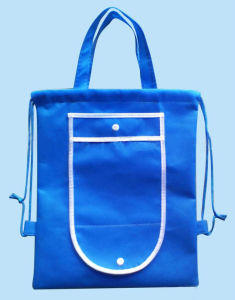 PP Nonwoven Shopping Bag with Drawstring pictures & photos