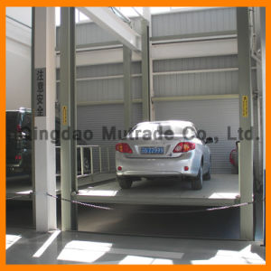 Four Post Basement Lift Hydraulic Car Elevator (FP-VRC) pictures & photos