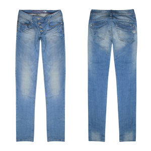 Women Leisure Skinny Denim Fashion Jeans