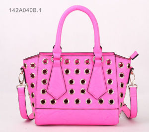 Fashion Lady PU Handbag (JYB-27046) pictures & photos