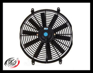 "Auto 14"" AC Fan 12V/24V 80W, Blower / Suck Air Fan, Straight/Bent Leaves Fan.   pictures & photos"