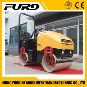 2 Ton Double Drum Full Hydraulic Vibratory Roller Soil Compactor pictures & photos