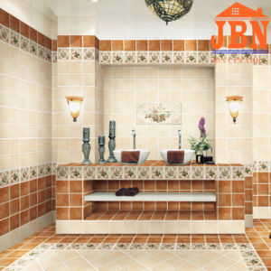 Non Slip 3D Inkjet Glazed Bathroom Ceramic Wall Tile (FB32003A) pictures & photos