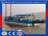 400m3/H River and Sea Cutter Suction Dredging Vessel
