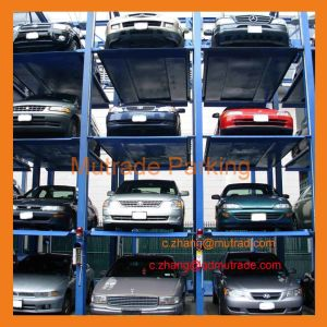 3 4 Tiers Auto Parking Stacker pictures & photos