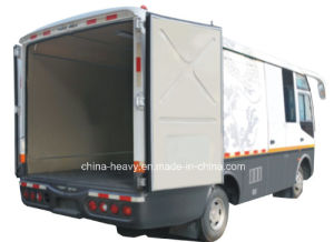 Rhd/LHD Dongfeng 115 HP Closed Cargo Bus pictures & photos