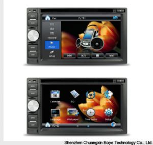 6.2inch Double DIN 2DIN Car DVD Player pictures & photos