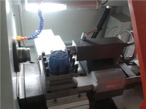 Precision Flated Mini Slant Bed Horizontal Metal Machining Small CNC Turning Lathe pictures & photos