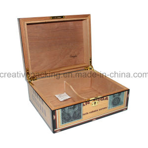 Custom Spanish Cedar Wood Cigar Humidor pictures & photos
