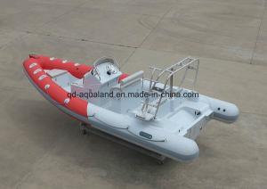 China-Aqualand-21.5 Feet 6.5m Rigid Inflatable Diving Boat/Rib Patrol/Fishing Boat (RIB650B) pictures & photos