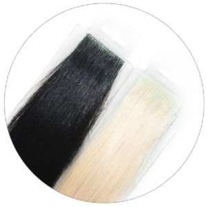 Russian Virgin Remy Pre-Taped PU Skin Weft Human Hair Extension pictures & photos
