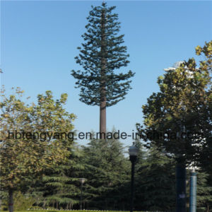 Single Tube Disguised Tree Telecom Tower pictures & photos