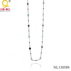 2014 Fluorite Necklace Crystal Necklace pictures & photos