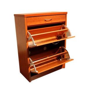 Particle Board Shoe Rack with Good Price pictures & photos