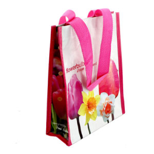 Woven Shopping Bag, with Lamination for Shopping and Promotional pictures & photos