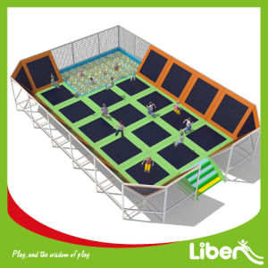 5 Years Warranty Made in China Indoor Trampoline Centre pictures & photos