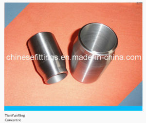 Forged Carbon Steel Pipe Fittings Plain End Concentric Swage Nipple pictures & photos