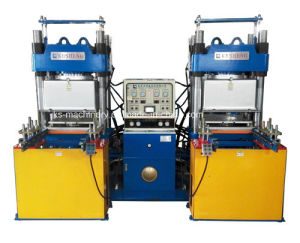 Vacuum Hydraulic Press Equipment for Rubber Products (40V2) pictures & photos