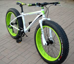 "26"" Inch Snow Fat Bike, Fat Tire Bicycle Bike, Big Tire Fat Bike (OKM-407)"