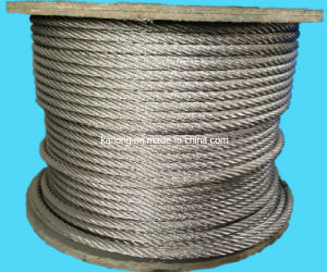 AISI304 7*19-20.0mm Stainless Steel Wire Rope pictures & photos