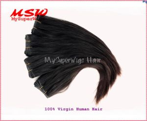 Cuticle Keeping, Unprocessed, Remy, Human Hair Wefts pictures & photos