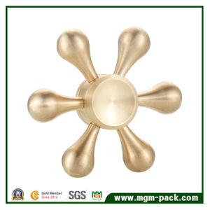 Hot Sale Hexagonal Copper Fidget Spinner pictures & photos