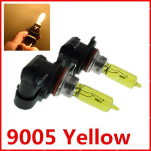 2 X 9005 Amber/Yellow Vision Xenon 12V 65W Fit for Fog Lamp&Halogen Light Bulbs Auto^Jmq