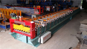 Color Steel Wave Roof Panel Roll Forming Machine pictures & photos