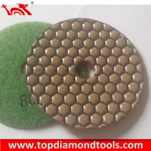 Diamond Flexible Dry Polishing Pads for Granite/Marble/Concrete pictures & photos