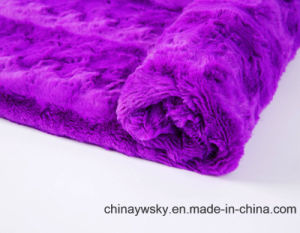 PV Fleece Fabric for Toy/ Garment pictures & photos