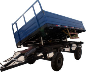 Three Way Dumping Trailer 5 Ton (SHT50H) pictures & photos