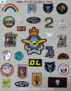 2015 Hot Custom Woven Clothing Label