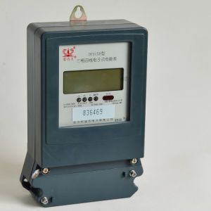 Three Phase 5-6 Digits LCD Electronic Kwh Meter pictures & photos