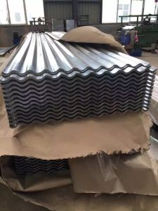 0.5mm Full Hard Temple Corrugated Galvanized Roofing Sheet pictures & photos