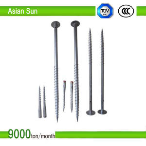 Hot Dipped Galvanized Ground Screw, Ground Screw Pile Anchor pictures & photos