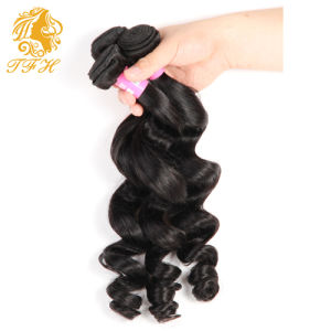 7A Unprocessed Malaysian Loose Wave Virgin Hair 3 Bundles Malaysian Loose Wave Human Hair Weave Bundles Malaysian Virgin Hair pictures & photos