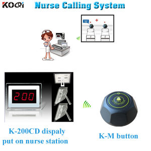 Easy Install Wireless Hospital Personal Calling System pictures & photos