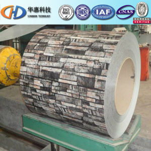 Pre-Painted Steel Coil of Brick Grain pictures & photos