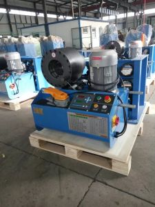 Uptodate High Quality Hydraulic Press Hose Crimping Machine pictures & photos