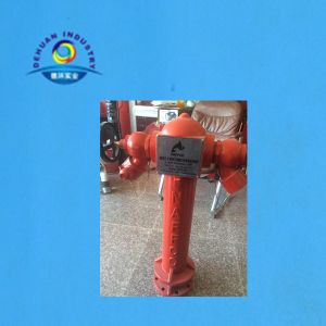 2 Ways Fire Hydrant with Flange Dn100 (4′′) with Flange 800mm