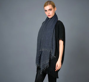 Alashan Worsted Cashmere Scarf, Soft/Luxurious Texture pictures & photos