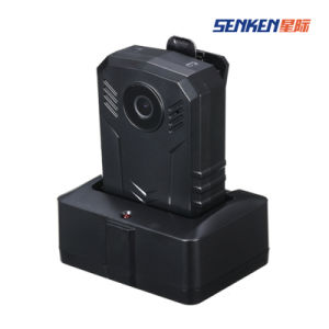 Super HD 64G IP67 Video Security Police Body IP Camera Built-in GPS pictures & photos