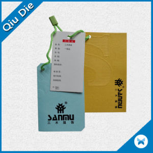 Different Colors Garmnet Hangtag Used for Man′s Clothing pictures & photos