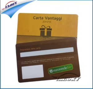 Free Design Full Printing 3-up Keychain PVC Cards/ Short Delivery Time for PVC Card pictures & photos