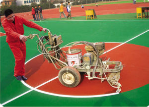 Line Marking Machine for Running Track pictures & photos